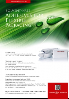 Solvent-free adhesives for flexible packaging