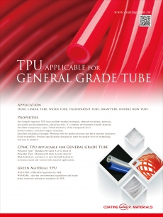 TPU Apply for General Grade Tube